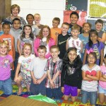 Second-graders recognized for good behavior