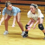 Starmount's intense volleyball camp showcases talent