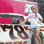 At the wheel with Kayla Harrell