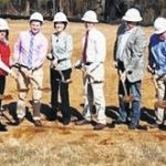 Yadkin Vision Center breaks ground for new office