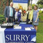 Surry Community College wine featured at state wine caucus