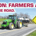 Farmers ahead, share the road