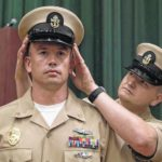 Yadkinville native earns coveted title of Navy chief petty officer