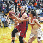 Falcons take win over Lady Rams in county rivalry