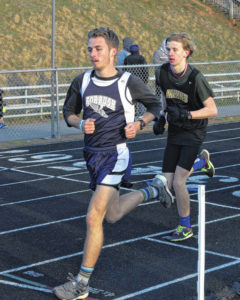 Forbush, Atkins take SC track meet