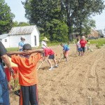 Area youth plant community garden