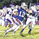 Forbush falls in homecoming game