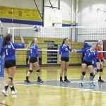 Lady Elks fall in conference match