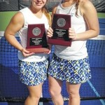 Tennis: Elkin's Miracle Walters and Morgan Randleman play for state championship