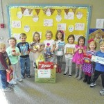 Boonville preschoolers give back