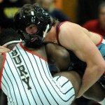 Forbush sends three wrestlers to state