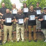 Eight complete sports medicine technology program at Surry