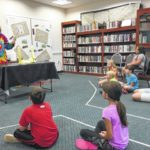 Science fun at the library