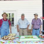 Trio of farmers celebrated at market