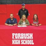 Forbush athletes sign with Surry Community College
