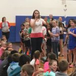 Country singer Lizzie Sider shares anti-bullying message with Yadkin County students