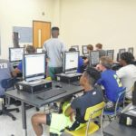 Hugh Chatham holds concussion screenings at Elkin High School