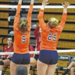 Lady Rams sweep Cardinals in three