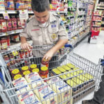 Local Scout collects food