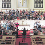 VIDEO: December opens with Elkin Community Chorus
