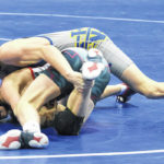 Falcons and Greyhounds battle on the mat