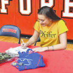 Myers signs with Pfeiffer