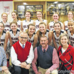 Forbush JV girls team finshes season undefeated