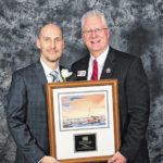 Local insurance agent honored at company event