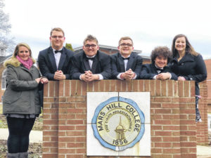 Developing as a singer and person at Mars Hill choral festival