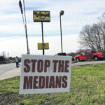 Business owners call to 'stop the medians'