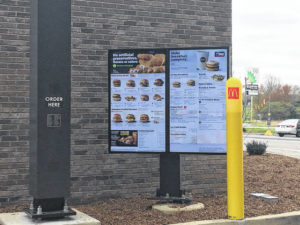 Newly renovated McDonald's reopens