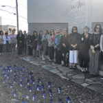 Child abuse vigil held