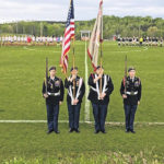 Women's soccer honors the military, gives back to the community