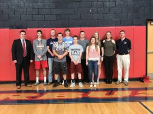 Forbush names Student Athletes of the Month
