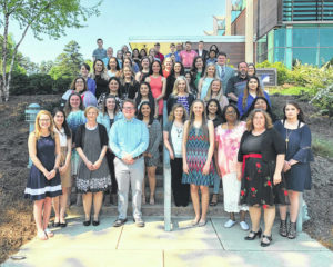 Society inducts new members