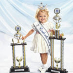 Foster places in beauty pageant