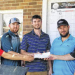 Lions Club golf tourney winners