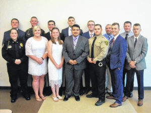Fourteen graduate from Surry Basic Law Enforcement
