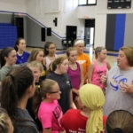 Lady Knights' Volleyball Camp draws record crowd