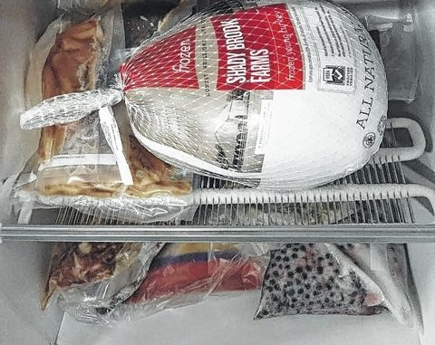 Of all the possible Thanksgiving disasters, having a freezer that looks like this on Thursday morning is probably the worst. But there is hope.