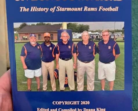 "Deana King wrote a book about Starmount football called ""Under the Lights of Longtown Road"".                                  Courtesy of Deana King"