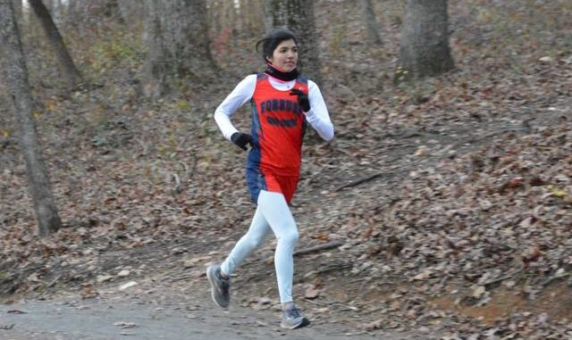 Bianca Gonzalez placed second at the NCHSAA 2A Regionals.                                  Cory Smith | The News