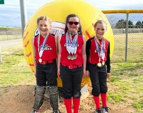 Additional home run hitters for the Coyotes are Preslee Ladd, Chesney Marsh (four home runs), and Lily Stanley (two home runs).