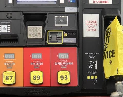 Some area gas stations out of fuel as customers flock to fill up.