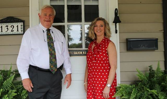 Husband-and-wife team Bob Qualheim, M.D., and nurse practitioner Tina Qualheim recently opened Elkin's only nephrology-focused practice earlier this year.